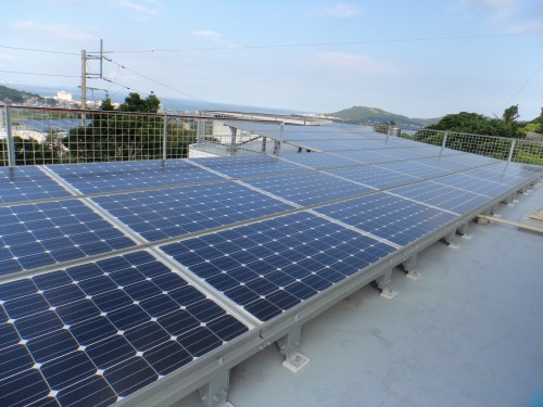 H邸太陽光発電工事